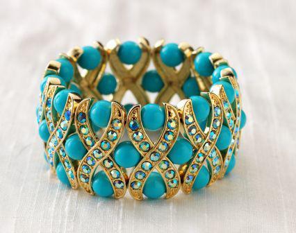 Как носить браслеты с бирюзой